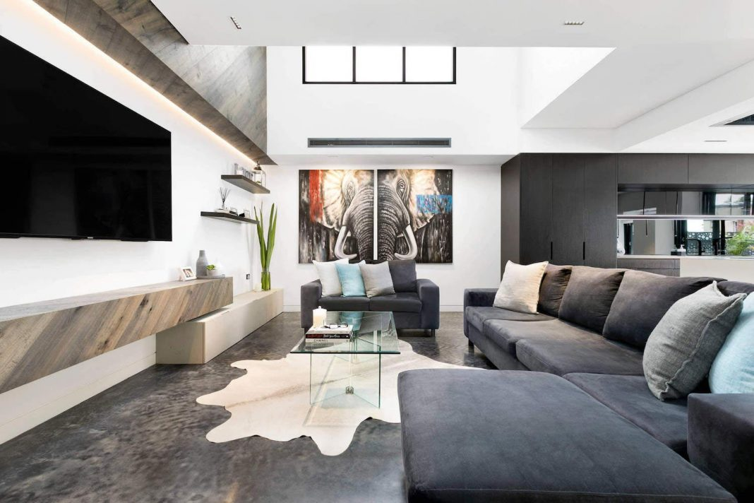 Carrera By Design Created A Spectacular Interior Combining Different Materials In Colors Such As White