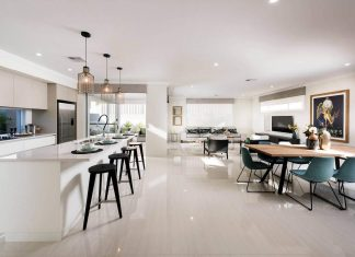 Contemporary residence in Hammond Park, Perth by Ben Trager Homes that offers all that you need to live well