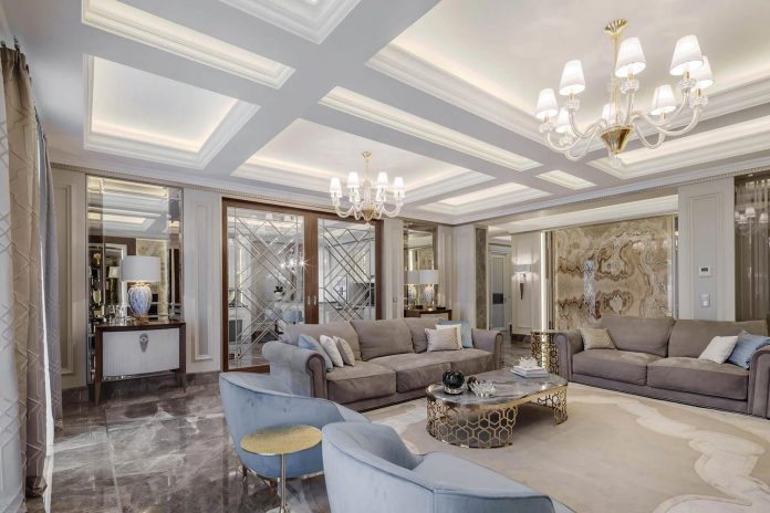 Luxurious Apartment Filled With Bright