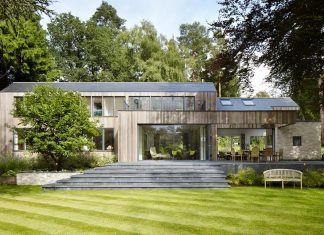 Fairy tale old bungalow converted into a contemporary house in the woods by Alma-nac