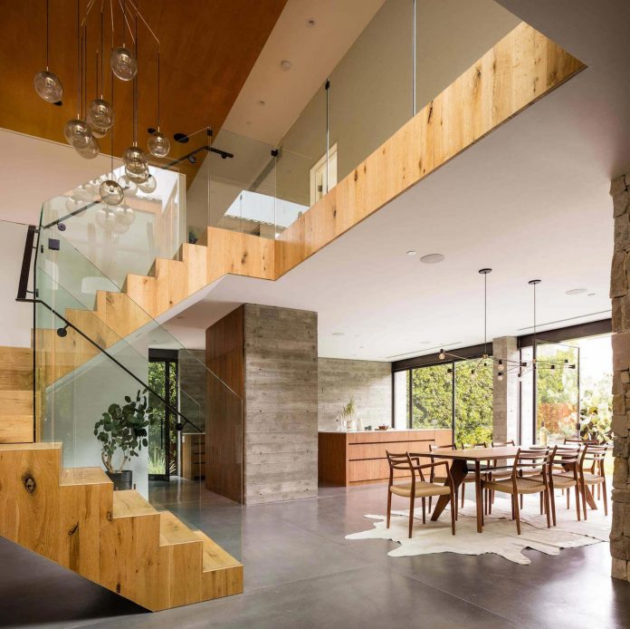 HedgeHouse: a West Hollywood Industrial Modern New Home by JacobsChang Architecture and Boswell Construction