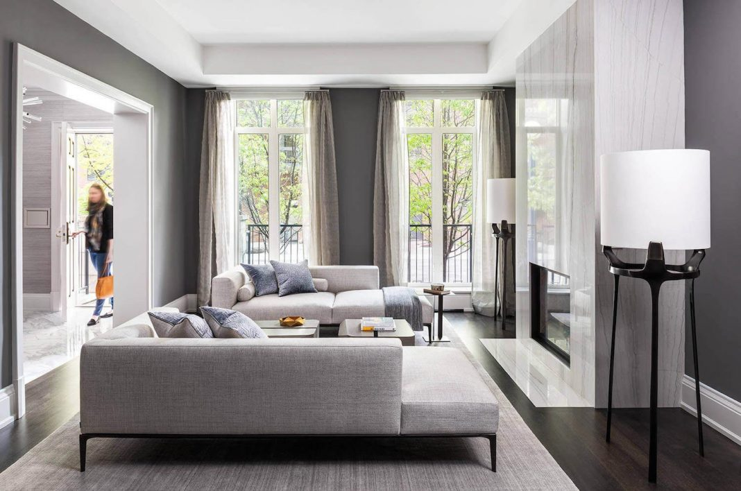 Laura hay decor design has completed this luxury and for Luxury townhouse designs