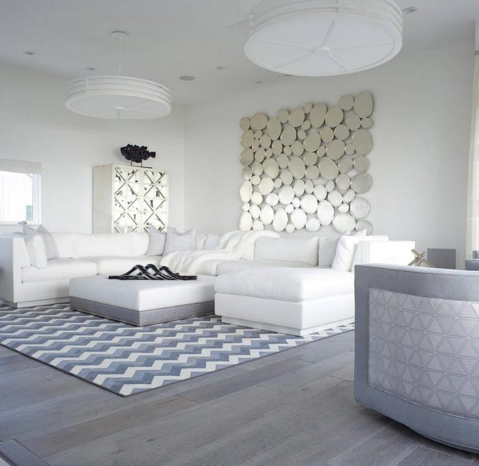 long beach island home had a full modernist makeover to take advantage of stunning views. Black Bedroom Furniture Sets. Home Design Ideas