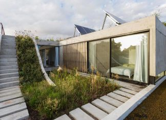 MeMo house - the result of the commitment not to waste square meters of vegetal soil