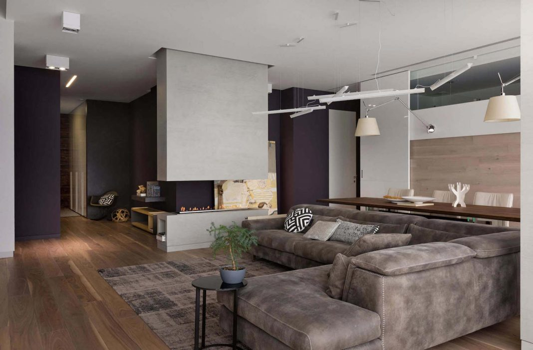 Modern and elegant apartment that uses all its space wisely designed by Azovskiy & Pahomova architects