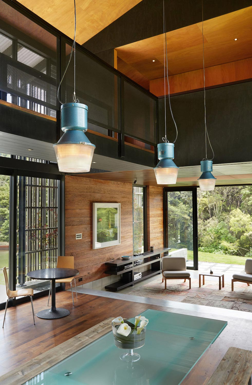 Modern Farmhouse Using Traditional New Zealand Rural Buildings
