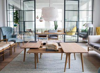 New showroom in New York's Flatiron District by Carl Hansen & Søn