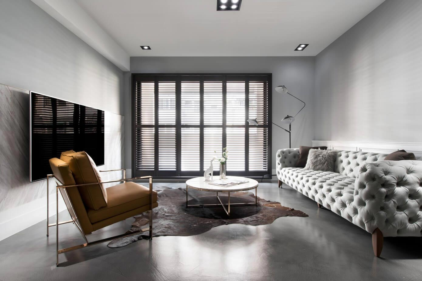 Living Room Partition Design Interiors