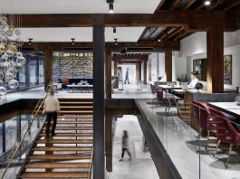 From an old dark warehouse to a stylish modern gallery feel in Dumbo, Brooklyn