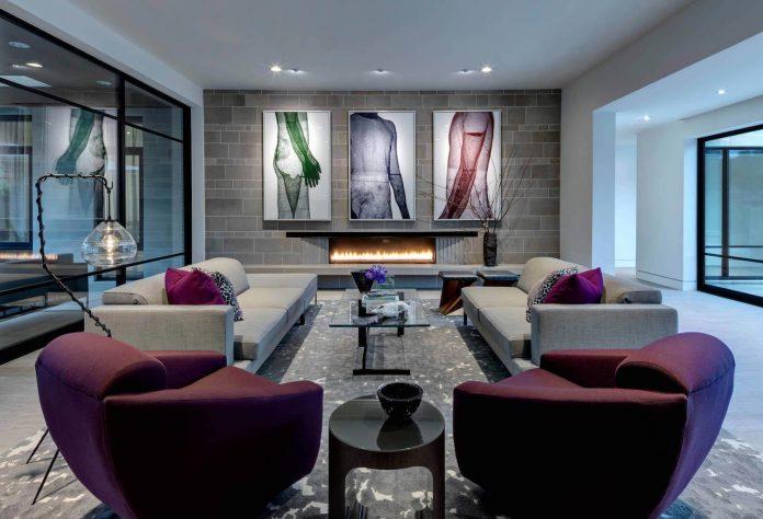 Preston Hollow modern residence by Linda Fritschy Interior Design