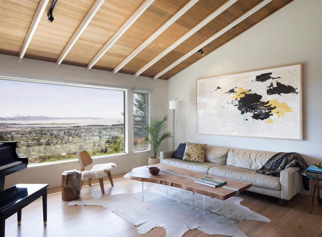 Ranch-style home in Kensington was remodeled and the result is a beautiful update with great views of the San Francisco Bay