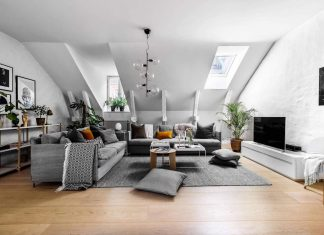 Scandinavian style apartments meets a contemporary vision created by VRÅ Homestyling