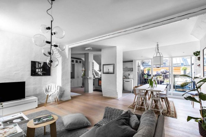 Home Styling scandinavian style apartments meets a contemporary vision created by