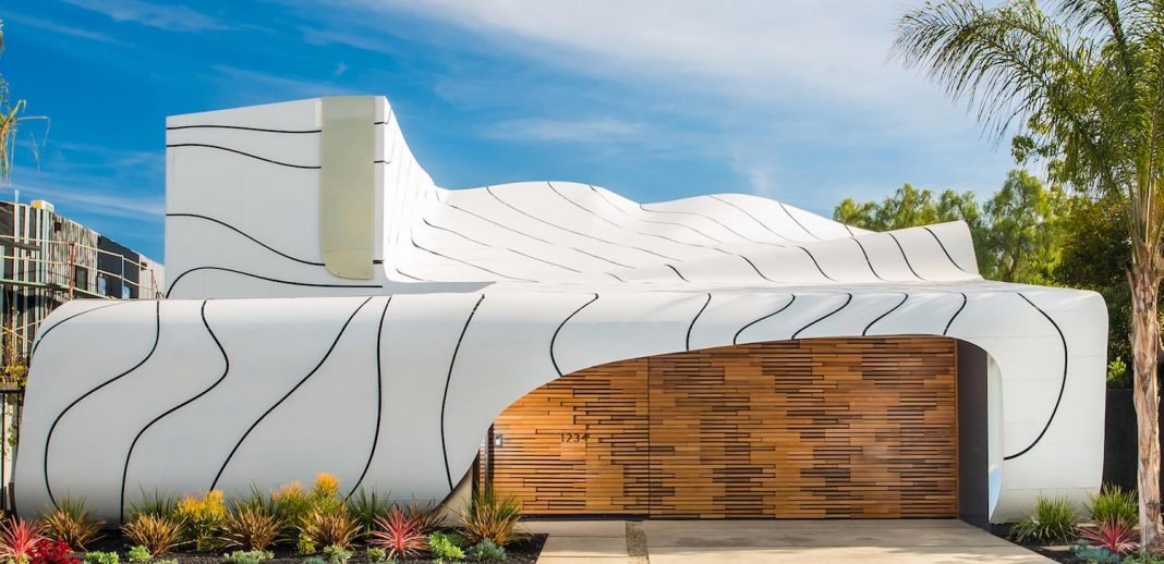 Wave House by Mario Romano: a work of art inspired by the patterns of nature for a modern family