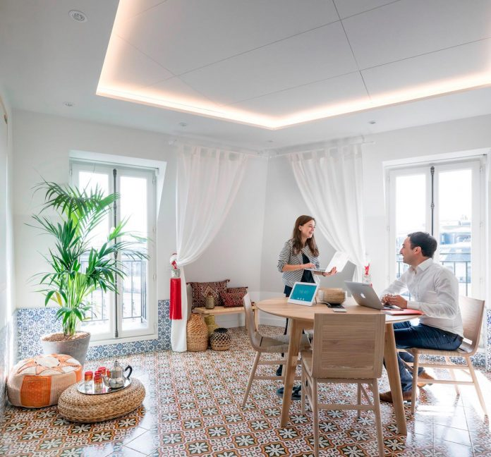 The Paris Office Opened April 2017 And Took 8 Months To Complete