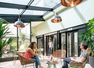 Airbnb Paris Office: Airbnb transforms a corporate office space into a traditional Parisian loft that feels like home