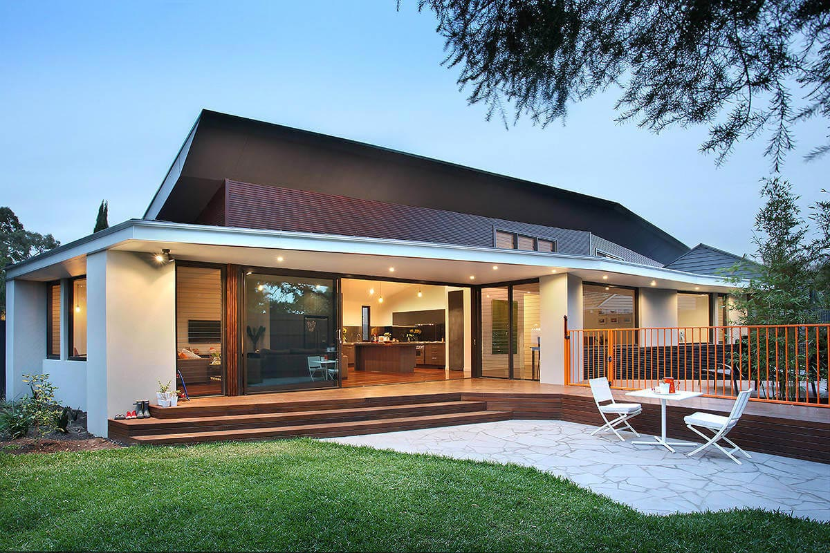 Award winning home in highett began with the brief to for Award winning home designs