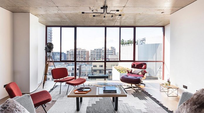 Dynamic penthouse in Surry Hills by Stukel Stone architects