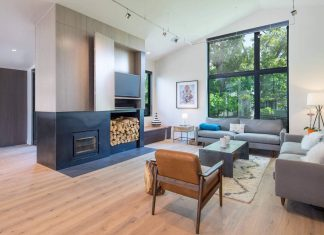Elton R Construction redesigned and old Colorado residence into a bright, open space interior design