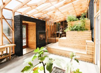 The Home Away project adapted to the client's busy lifestyle by using a number of space-saving strategies