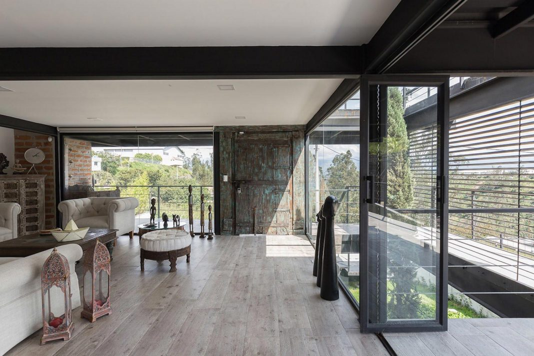 The Horizontal House An Architecture Always At The Service Of The
