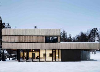The House of the Lake project that breaks all the boundaries to nature