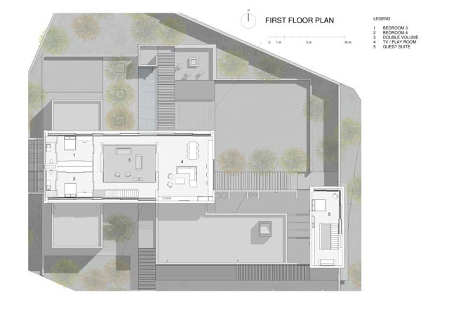 Minimalist home with separate functional areas for the family members activities page 3 of 3 - Separate garage plans minimalist ...