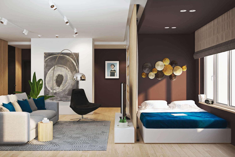Dark Wood Bedroom Furniture Modern