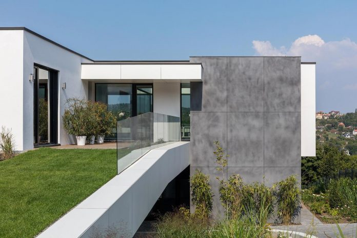 Modern Two Storey Villa In Budapest By Toth Project Architect Office