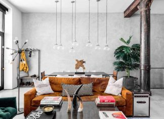 Noho Loft by Motiani Design, an contemporary industrial home design in the heart of New York City