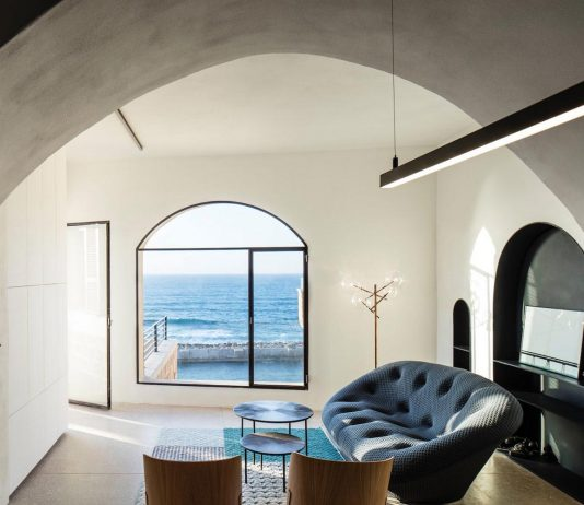 Refurbishing of the modern cave project in Tel Aviv
