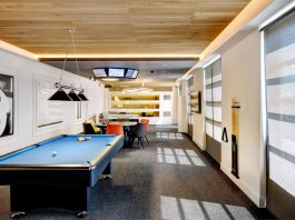 tech4U Office Space Renovation is a place where business and pleasure coexist