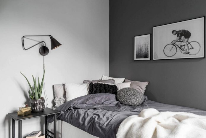 how does a typical scandinavian apartment looks like this a clean bright apartment in. Black Bedroom Furniture Sets. Home Design Ideas