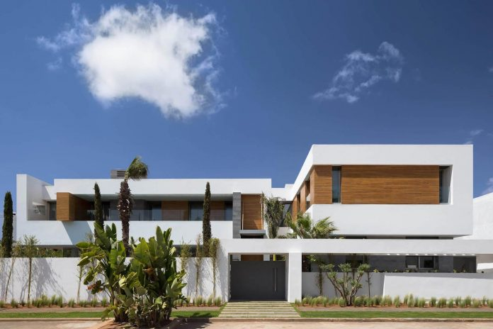 villa c a modern private house in a luxury suburb of rabat morocco