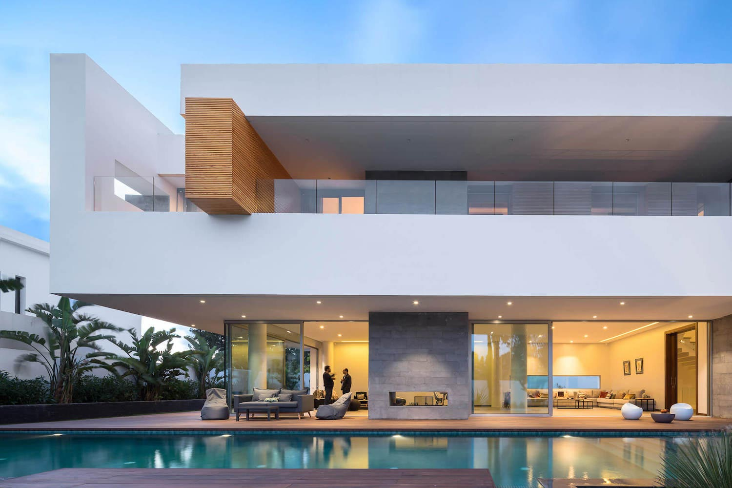 Villa c a modern private house in a luxury suburb of for The design home