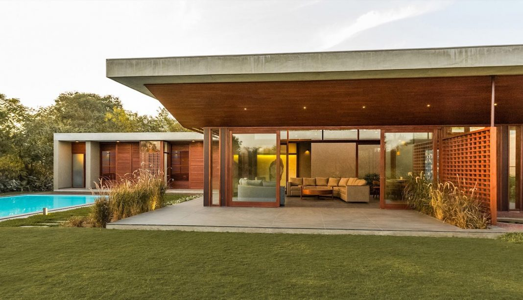 Weekend house meant as a gathering and retreat place for the ...