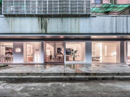 Atelier Peter Fong by Lukstudio revives an empty corner lot into both an office and a cafe