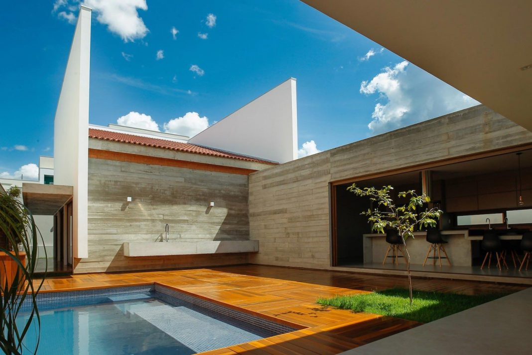Architecture Design Values contemporary home that would rescue some values of human