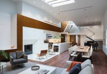 Five-bedroom duplex penthouse renovation by DXA studio