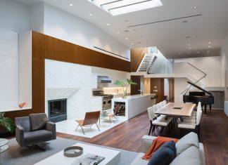 Five-bedroom duplex penthouse renovation by DXA studio