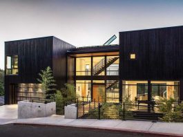 The Music Box Residence rises up to capture and accentuate magnificent views of the Portland cityscape