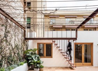 The reformulation of a dwelling's condition adapted to Mediterranean climate, in the urban density of Gracia's district