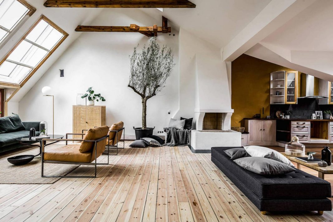 Riddargatan stylish scandinavian apartment designed by - How to design an apartment ...