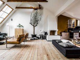 Riddargatan stylish Scandinavian apartment designed by Henrik Nero