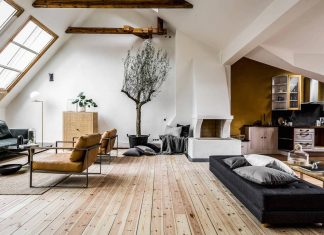 Riddargatan stylish Scandinavian apartment designed by Henrik Nero