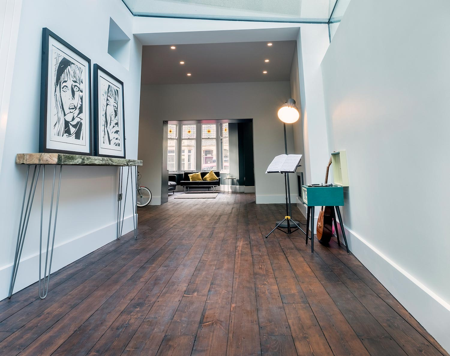 Contemporary Development Of A Stunning Three Story Victorian House
