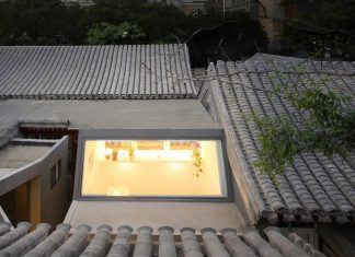 The design of a project which started with two traditional houses and one privately-built house