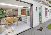 Extending and a total refurbishment of a house in a typical '30 Amsterdam building