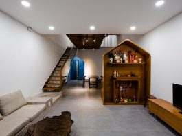 House designed by 23o5studio for those who love simplicity but rebellious