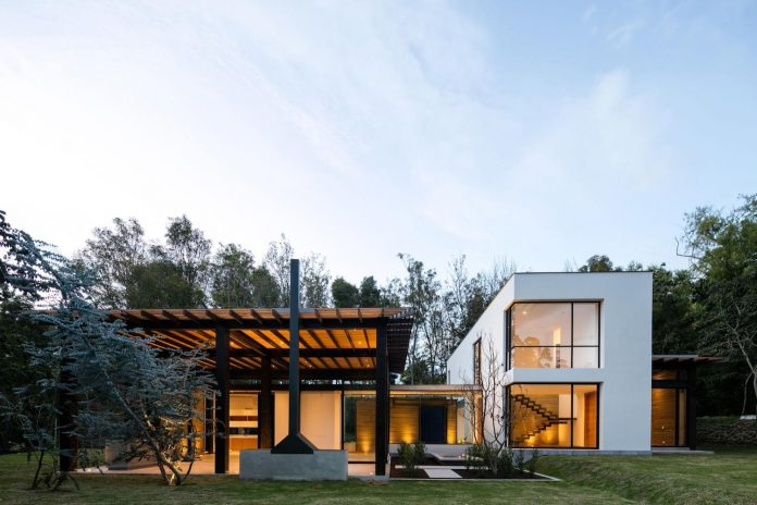 House located in the surrounding valleys of Quito, Ecuador